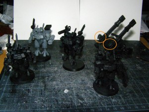 Modular Crisis Suits and Broadside Battle Suit